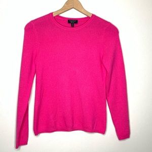 Charter Club Pink Cashmere Sweater Size Mediun
